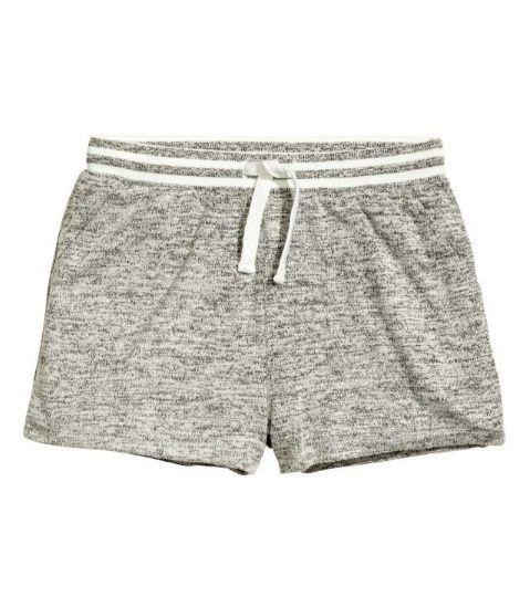 H&M Къс меланжиран панталон