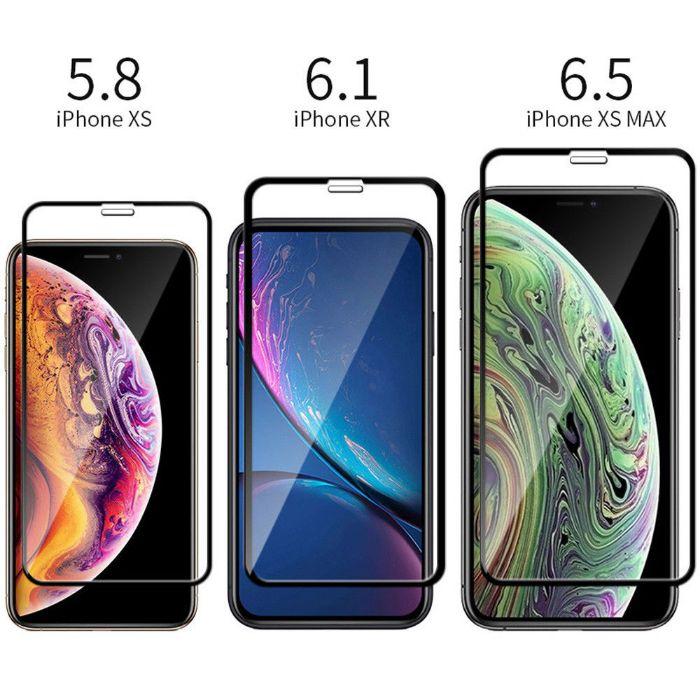 Folie sticla iPhone X XS XS Max model NOU Full 5D Cea mai buna folie
