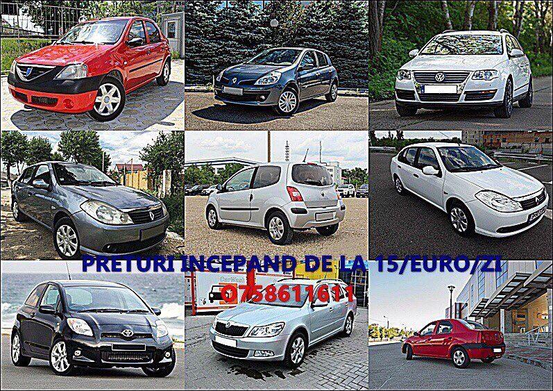 Rent a car / Inchirieri auto / Chirie auto Constanta NON STOP (FIRMA)