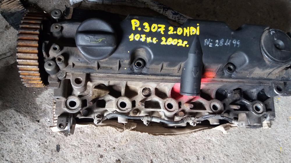 Глава мотор Пежо 307 2.0хди 107кс 2002г - Peugeot 307 2.0HDI