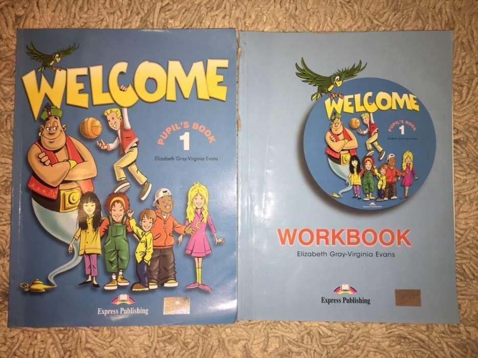 Carte + caiet de lucru engleza Welcome, nivel 1