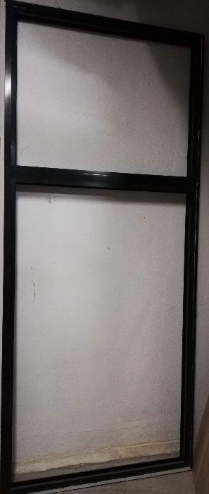 Perete sticla tamplarie de aluminiu Qfort, cu sticla 268,5 x 116,5 cm