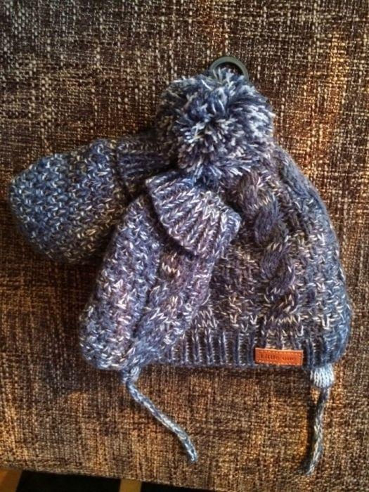 Детска шапка и ръкавици