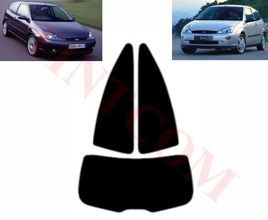 Ford Focus (3 врати, хечбек, 99 - 04) - Фолио за затъмняване на стъкла