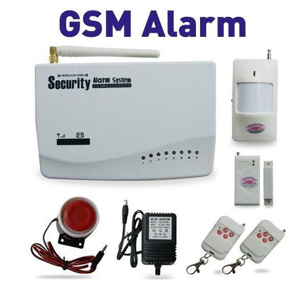 Сигнализация на сейф с дозвоном и СМС оповещением на сотовый телефон.