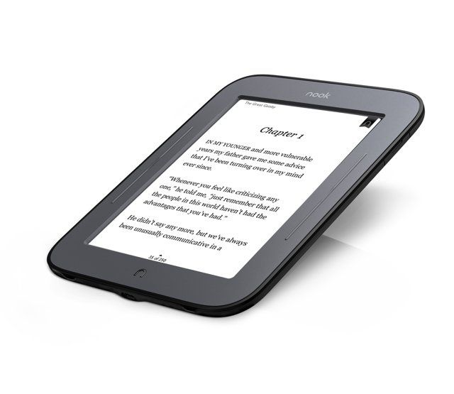 "Електронен четец ereader Nook Simple Touch 6"" E-ink 2GB"