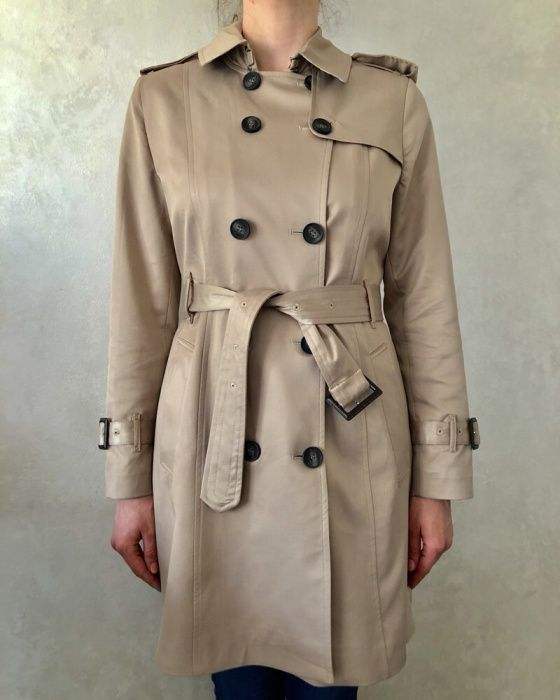 Trench dama Burberry, Made in England