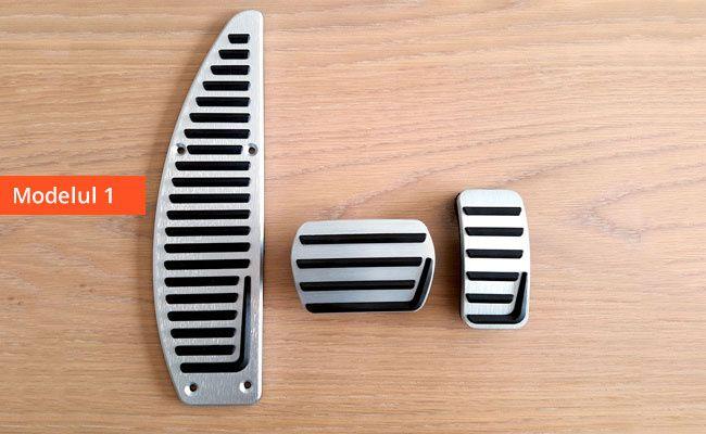 Ornamente metalice pedale -Volvo C30-70, S40-60-80, V40-50-60-70, XC60