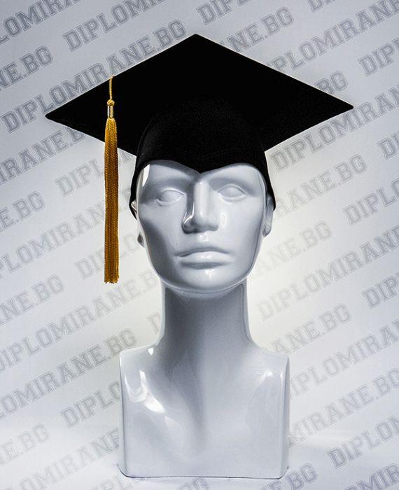 Академична шапка за дипломиране