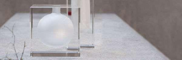 Луксозен кристален куб/ ваза Rosenthal - за ценители- ниска цена