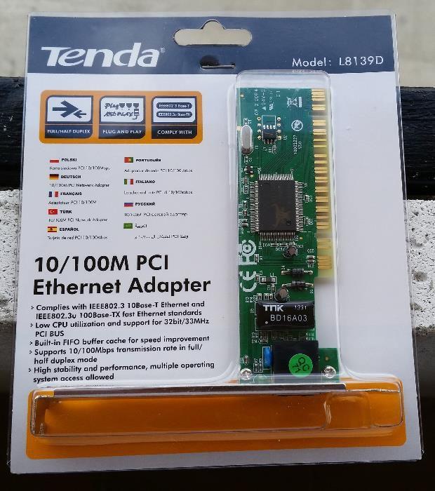 Vând placă de rețea Tenda
