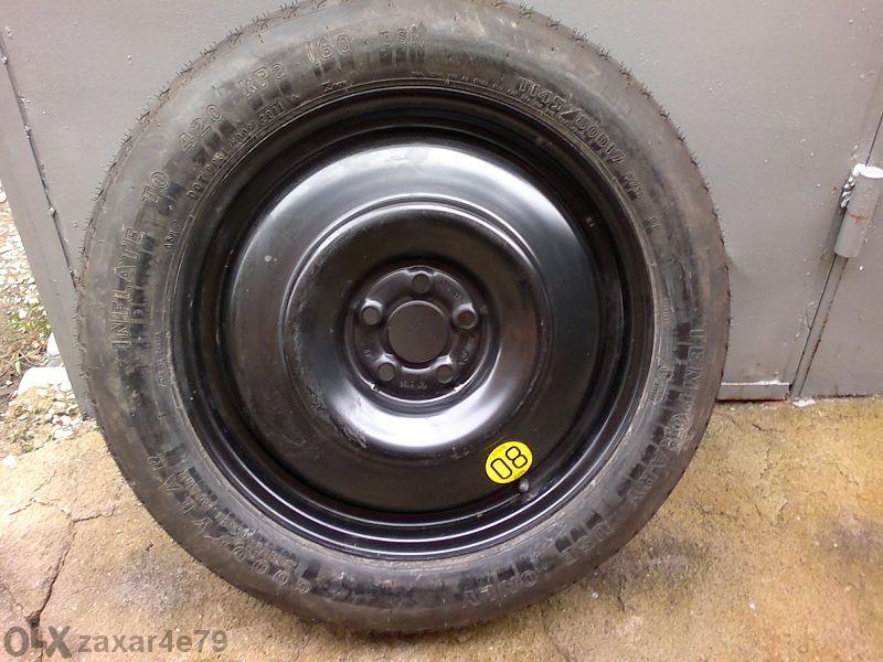 резервна гума патерица за subaru outback, forester 17 цола 5x100