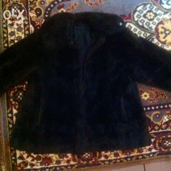 кожено палто №48