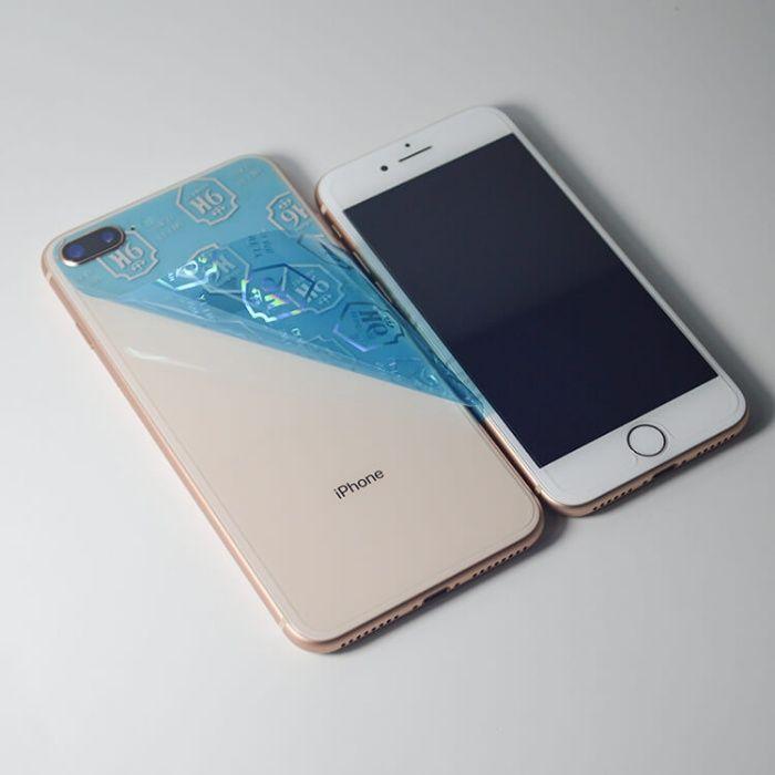 Folie sticla Fata/Spate SHOCK-PROOF 9H iPhone 7, 8