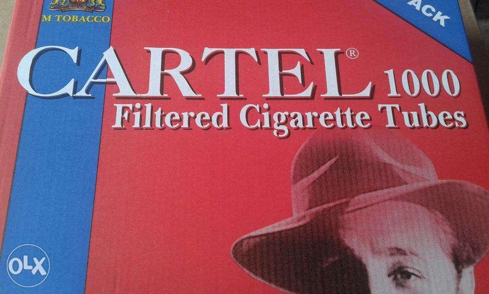 Tuburi pentru facut tigari Cartel 1000 filtre