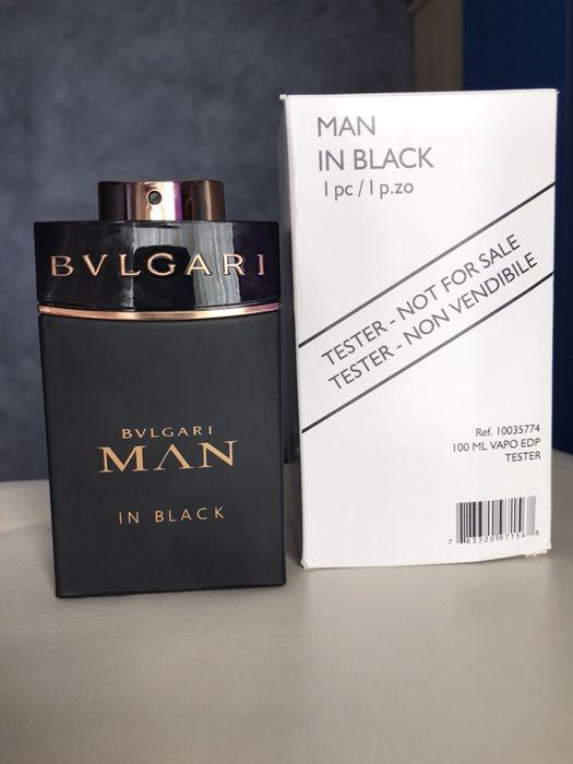 Tester parfum Bvlgari man in black