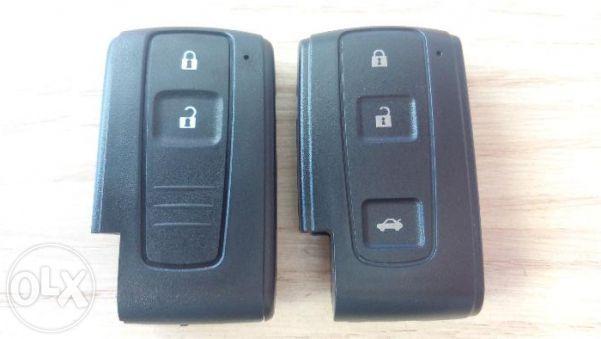 Кутийка за ключ за Тойота/Toyota Смарт/Smart Корола/Corolla с 2 и 3 бу