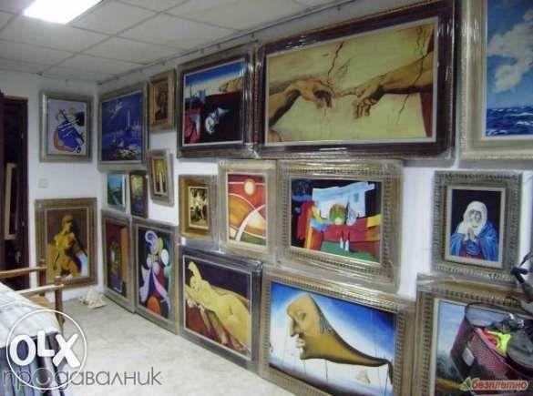 Продавам картини репродукции на световно известни художници