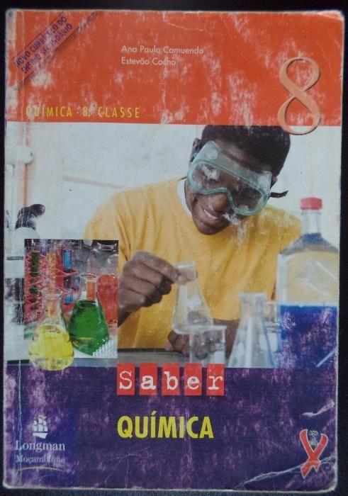 Livro de Química da 8ª Classe