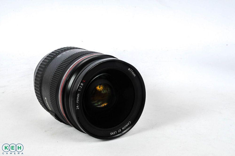 24-70-Canon-EF-F-2.8 L USM с поврежденным шлейфом