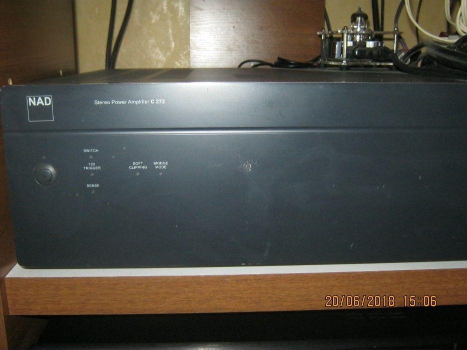 продам усилитель мощности Nad c 272 150 ватт на 8 ом. обмен.