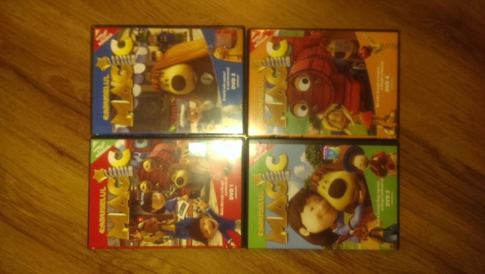 DVD uri (4) desene animate NOI, Caruselul Magic