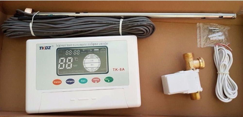 PANOU solar apa calda INOX 150L 180L REZERVOR nepresurizat Controler‼️ Targoviste - imagine 7