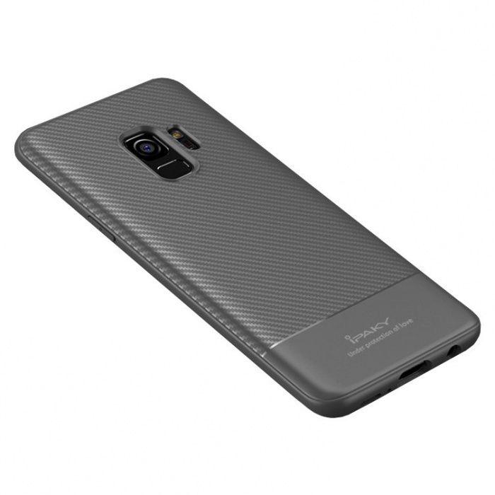 Husa iPaky Samsung S9 S9 Plus TPU carbon