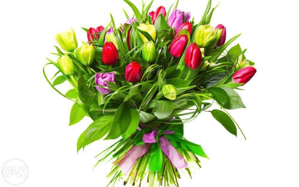 Всегда свежие голландские и местные розы, полевые цветы с доставкой!