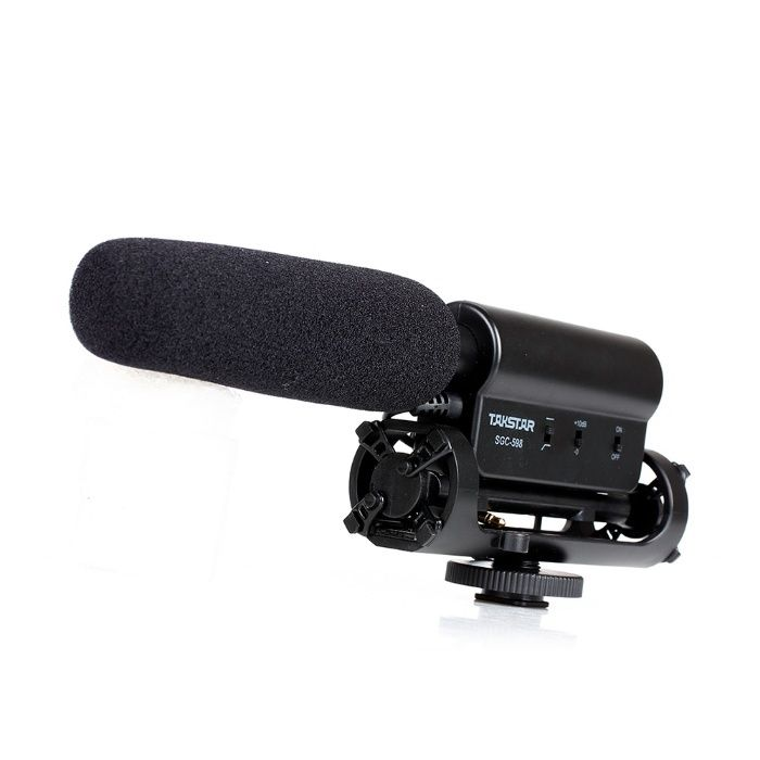 Microfon TAKSTAR SGC-598 Microphone for DV / DSLR Camera, nou.
