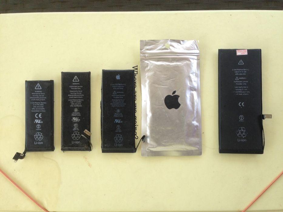  Baterias para iPhone 4S/5c/5S/6/6S/7/plus