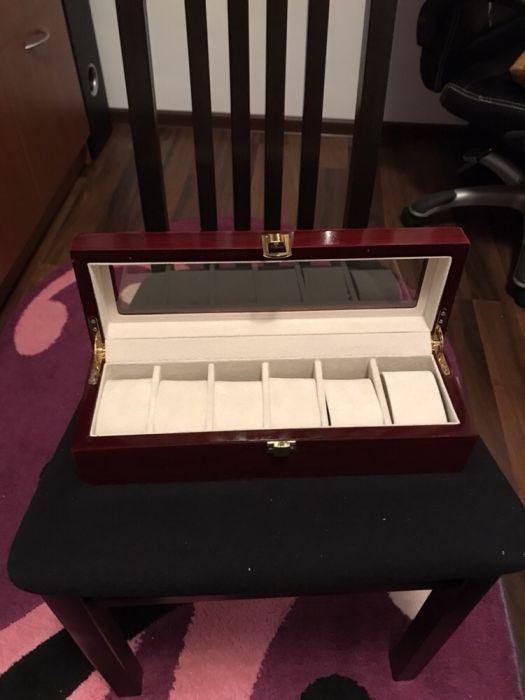 Cutie ceasuri / bijuterii lemn 6