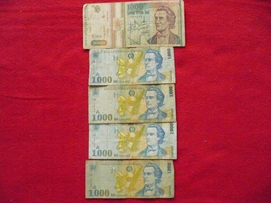 Monede si bancnote Romanesti si straine