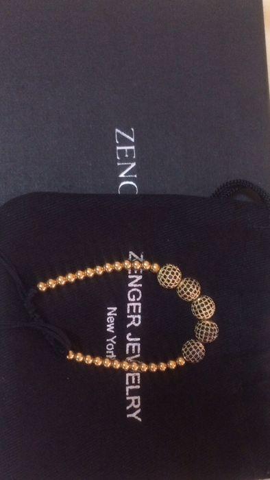 Pulseira Zenger New York revestida em ouro 18k