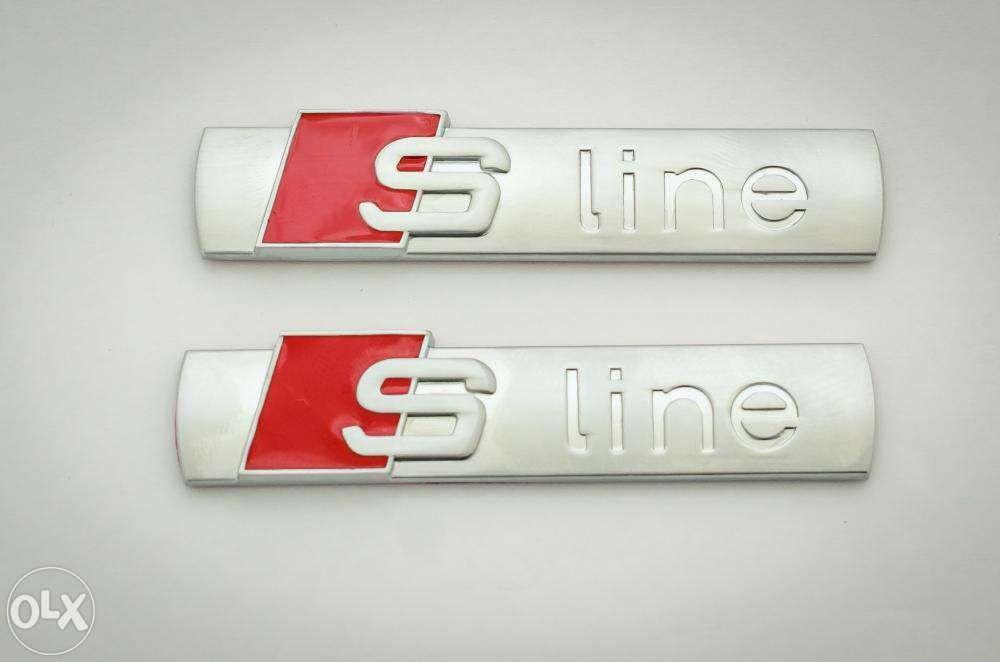 Set Embleme AUDI A3/S3-line s-line