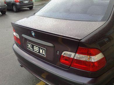 Coada de rechin + lip portbagaj BMW E36 E39 E46 m3 PROMOTIE