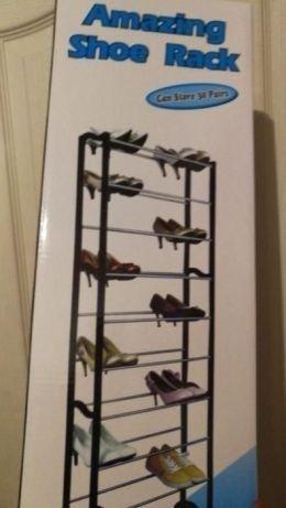 Suport pantofi nou-10 rafturi- pana la 30 de perechi