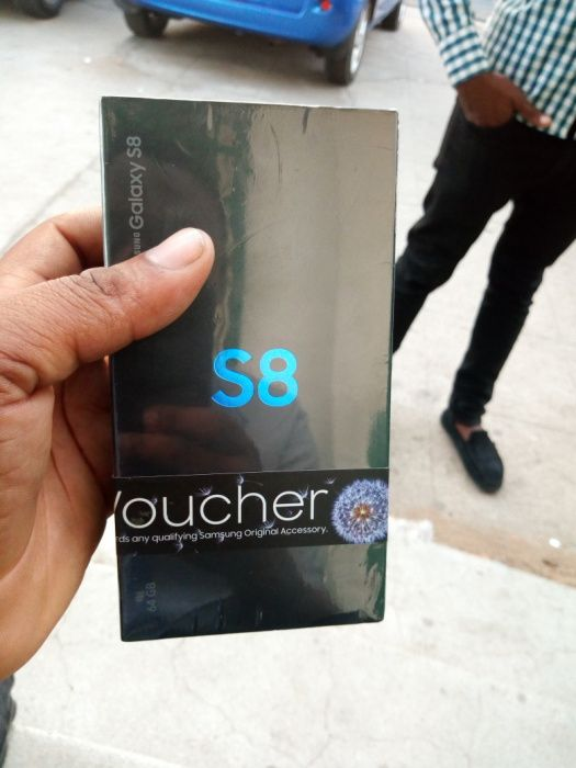 Samsung galaxy S8 selados