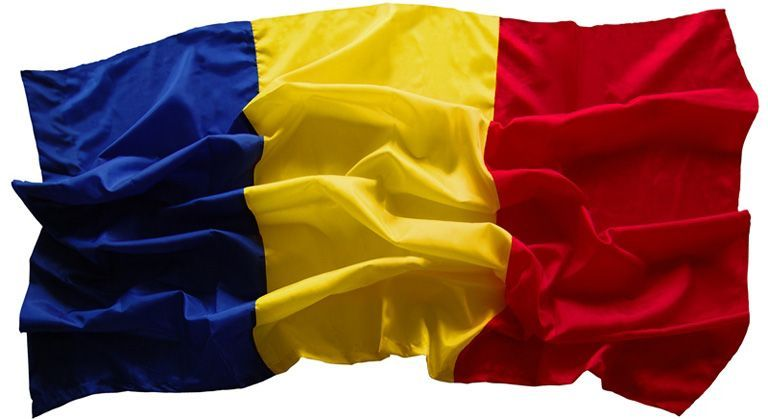 DRAPEL national ROMANIA steag TRICOLOR dimensiuni 120x180cm NOU