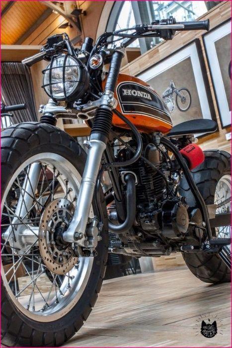 Far moto Scrambler Cafe Racer , nou