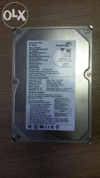 Hard Disk Barracuda 7200.7, 40GB