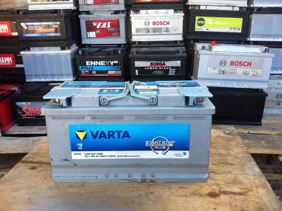 акумулатор 95ач,старт стоп,агм,гелов,варта,гаранция