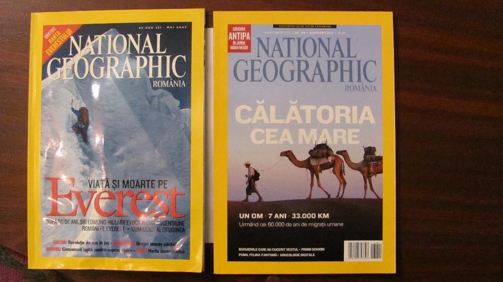 Colectie NATIONAL GEOGRAPHIC Romania 2003 - 2013 + 10 numere 2014 - 16