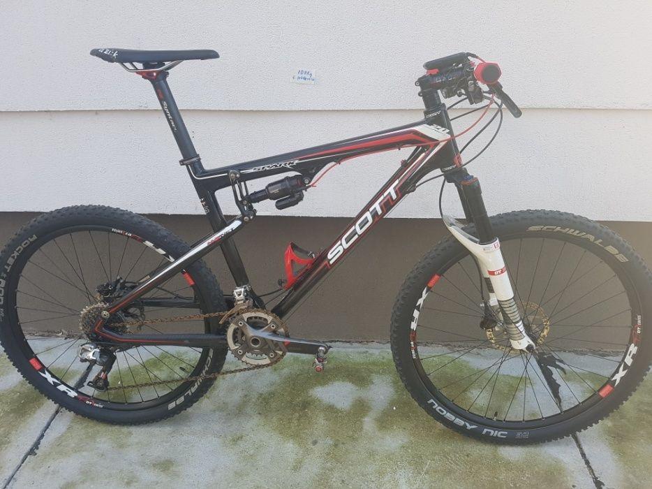 Bicicleta de concurs SCOTT SPARK carbon.sram XX.roti si furca dtswiss