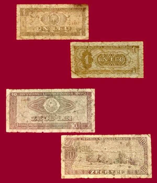 Bancnote vechi românești - SCHIMB