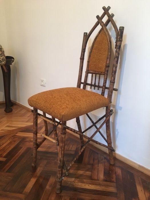 Scaun vintage din lemn, stare excelenta