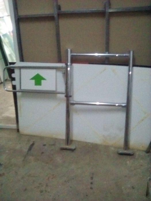 Sistem dirijare bariere inox