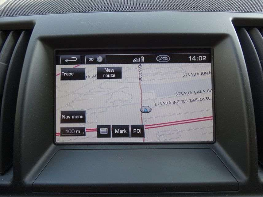 Update navigatie LAND ROVER GEN2.1 HDD Discovery Range Sport Freeland