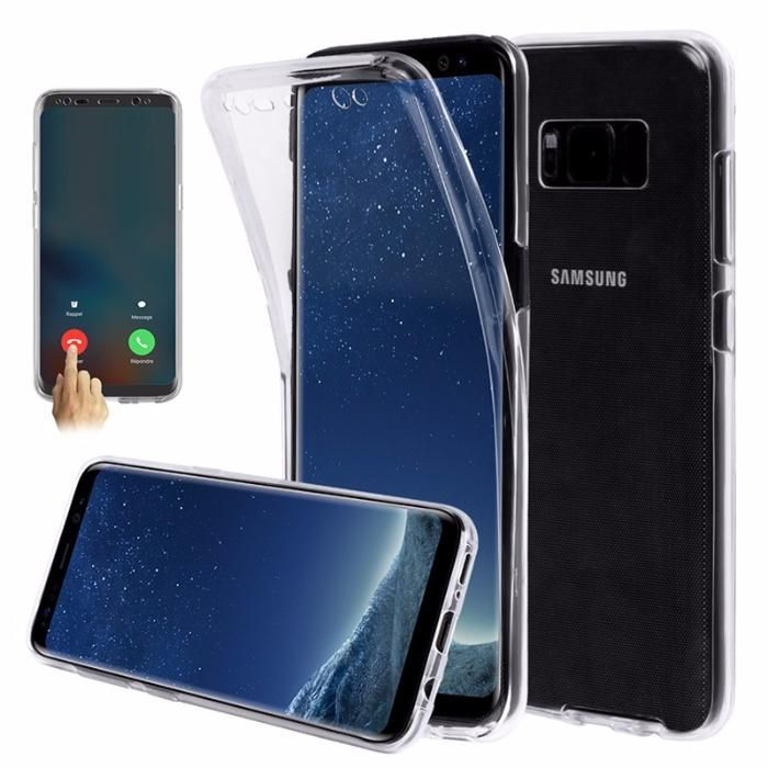 Samsung S8 S8+ S9 S9+ Husa Fata si Spate din Silicon Transparent