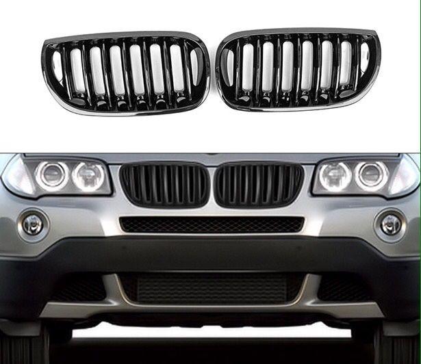 БМВ Х3 черни бъбреци Е83 преди фейс Х драйв 204 М пакет сд BMW X3 3.0d